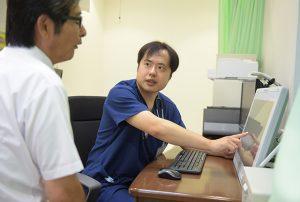 内科診察室